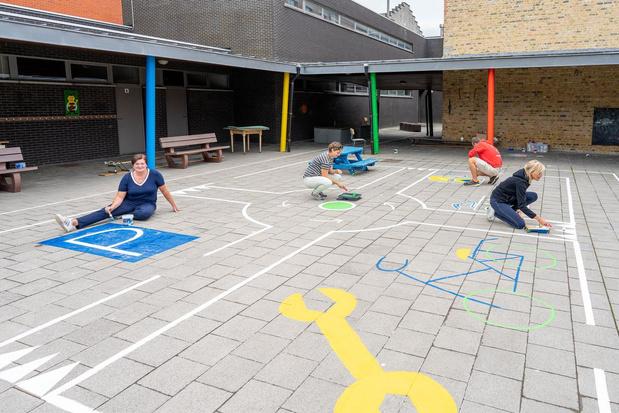 Gemeenteschool De Zandloper is klaar voor 1 september