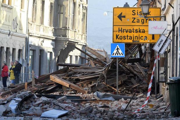 Nieuwe aardbeving in Kroatië: angst bij bevolking