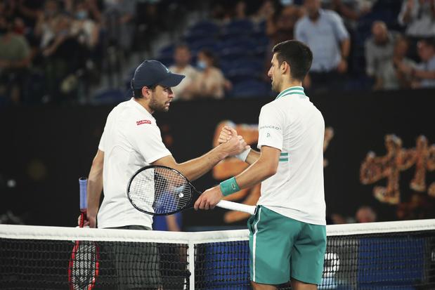 Novak Djokovic plaatst zich als eerste voor mannenfinale Australian Open