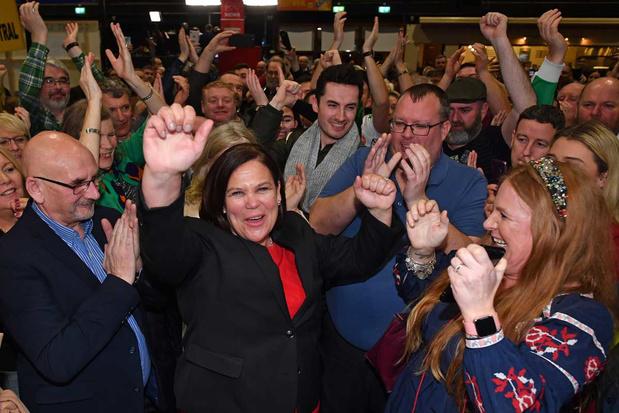 'Comeback van de Ierse nationalisten: een onverwerkt verleden is wakker geschud'