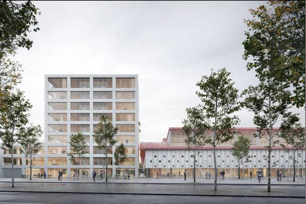 Vernieuwde Antwerpse Slachthuiswijk krijgt horecaplein en duurzame hogeschoolcampus