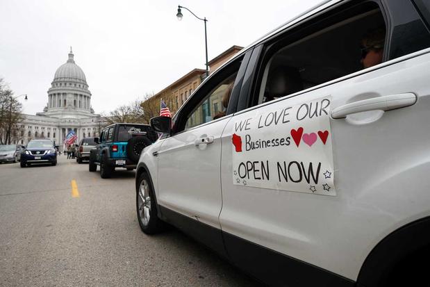 Hooggerechtshof van Wisconsin schrapt verlenging van lockdown