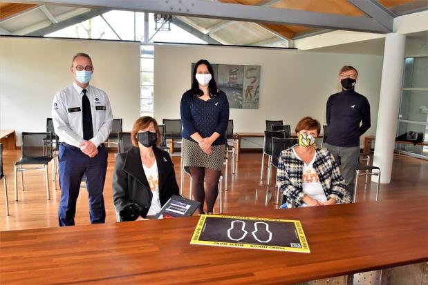 Vrouw & Maatschappij Harelbeke voert actie rond dodelijk partnergeweld