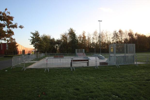 Skatepark gesloten in Houthulst