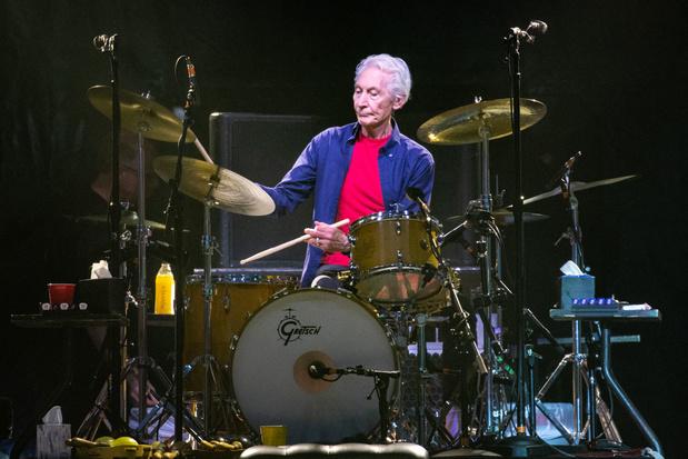 Drummer Charlie Watts van The Rolling Stones  overleden
