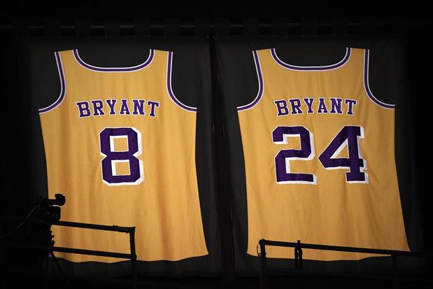 De sportweek in 10 markante cijfers: waarom Kobe Bryant de rugnummers 8 en 24 droeg