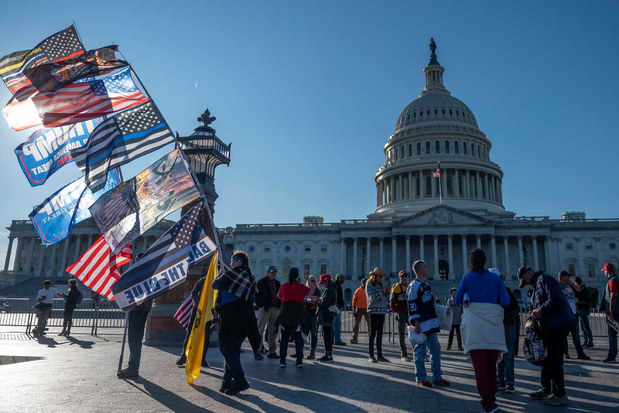 """'De """"checks and balances"""" in het Amerikaans politiek systeem zullen tot het uiterste getest worden'"""