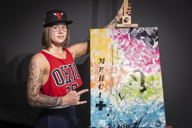 Ledegemse kunstenares schenkt schilderij aan AZ Delta