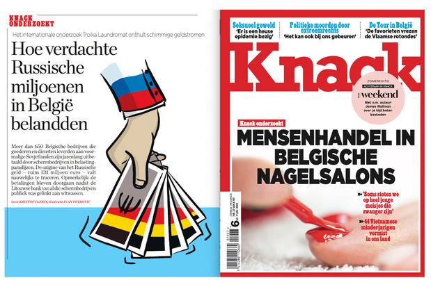 Onderzoeksjournalistiek Knack tweemaal internationaal bekroond