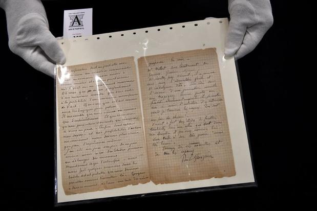 Van Gogh Museum verkrijgt brief bordeelbezoek Van Gogh en Gauguin