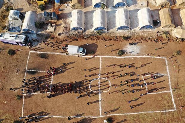 Les olympiades des tentes