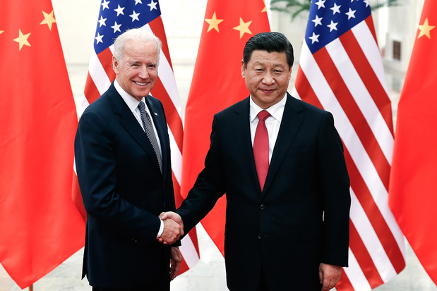 China feliciteert Biden