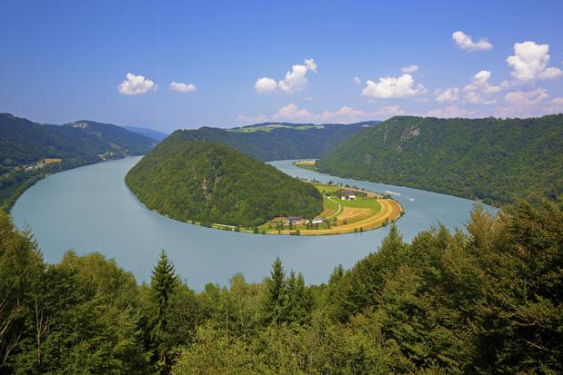 Donau door menselijke bemoeienis 134 kilometer korter dan 150 jaar geleden