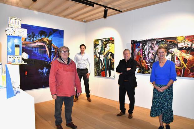 Expo Philippe Bouttens opent in vastgoedkantoor Engel & Völkers
