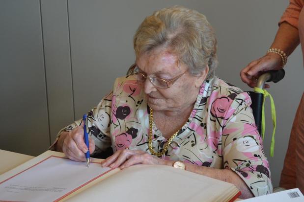 Eeuwelinge Gerarda Vanderbeken uit Deerlijk overleden