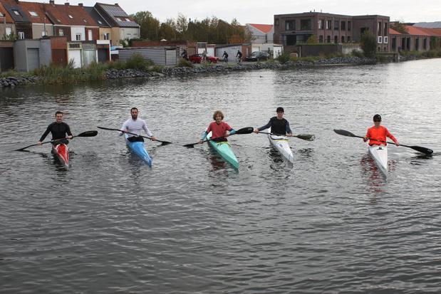 """Koninklijke Kortrijkse Yacht en Kano Club blijft actief: """"Afstand bewaren op en naast water"""""""