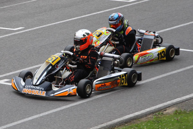 Amper 13-jarige Jules Vanhulle uit Izegem gooit hoge ogen op BK karting