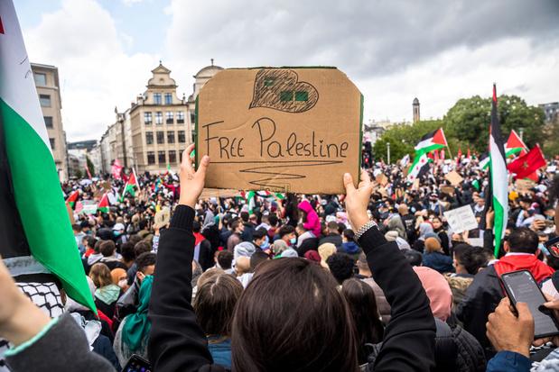 Geweld in Gazastrook houdt aan, honderden mensen trekken straat op in Gent, Antwerpen en Brussel
