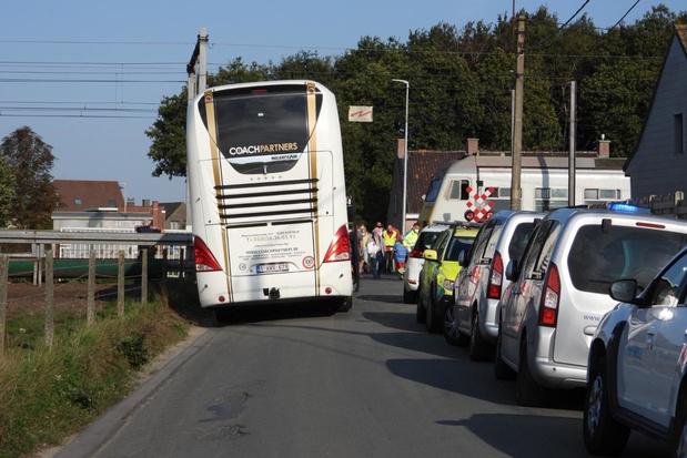Opnieuw treinverkeer na aanrijding in Torhout