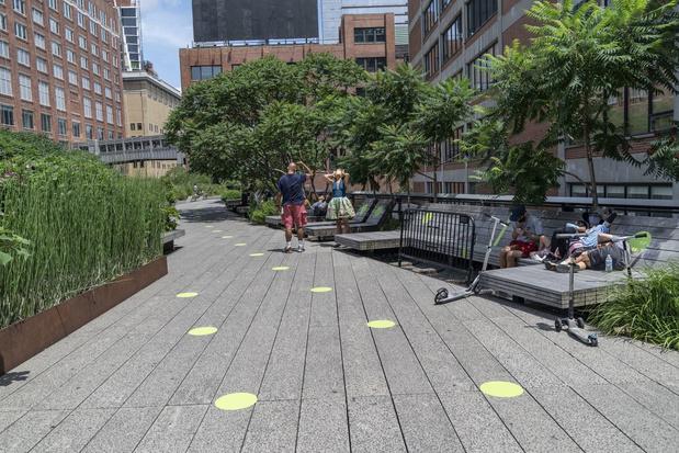 High Line park in New York wordt uitgebreid
