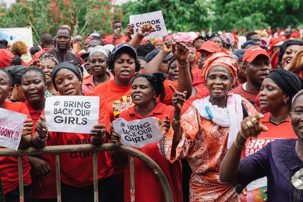 Nog steeds honderdtal door Boko Haram ontvoerde meisjes vermist in Nigeria