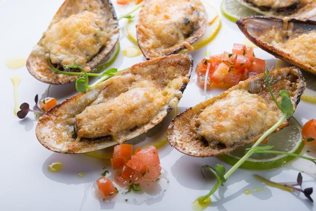 Gepaneerde oesters