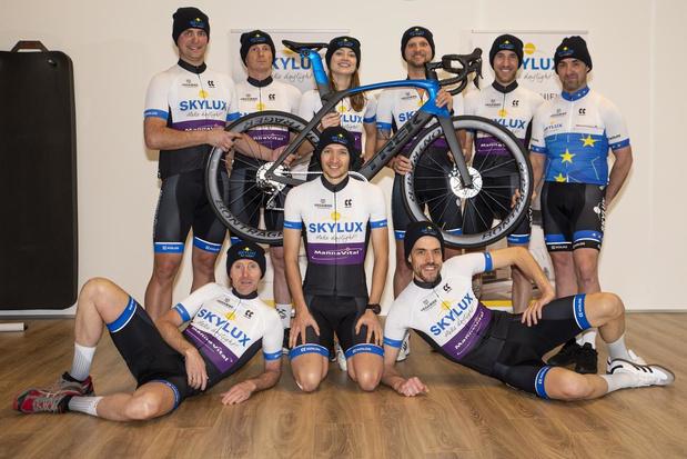 Nieuwe wind waait door Skylux-Mannavital Cycling Team