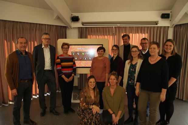 Technologie en senioren hand in hand in WZC De Noordhinder