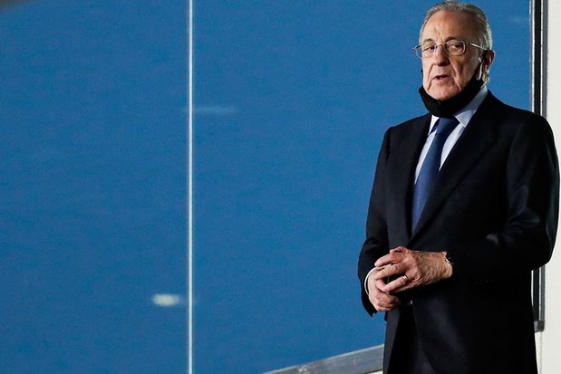 """Real Madrid-voorzitter spreekt dreigende taal: """"Clubs kunnen niet zomaar opstappen uit Super League"""""""