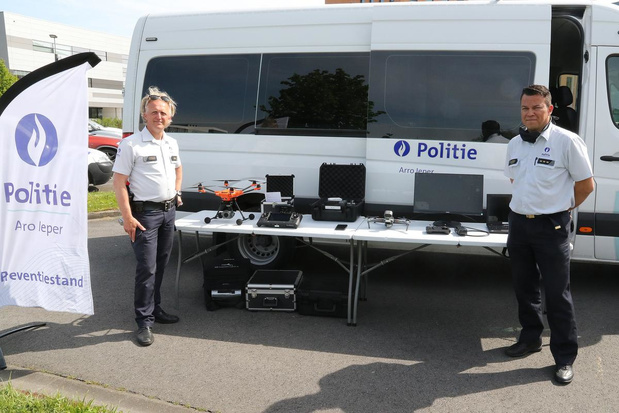 Drone geeft politiezone Arro Ieper extra ogen in de lucht