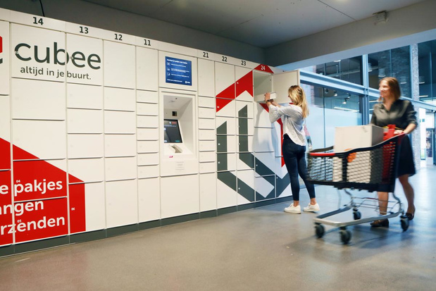 Knokke-Heist en Bpost plaatsen Cubee-pakjesautomaat in handelscentrum