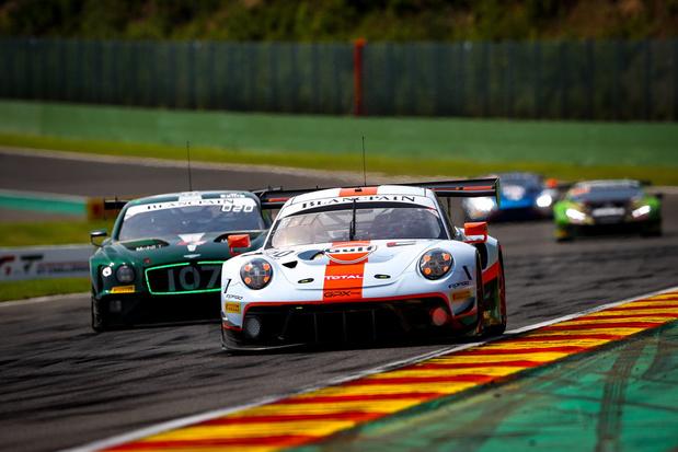 Porsche wint hectische 24 uren van Spa