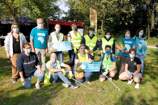 Ook duizenden West-Vlamingen helpen zwerfvuil ruimen tijdens World Cleanup Day