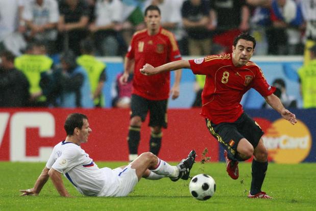 Flashback naar 10 juni 2008: Spanje geeft het Europese landenvoetbal een nieuwe impuls