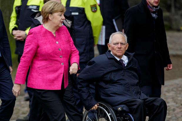Duits ex-minister Wolfgang Schäuble: 'Kort zomervakantie in'