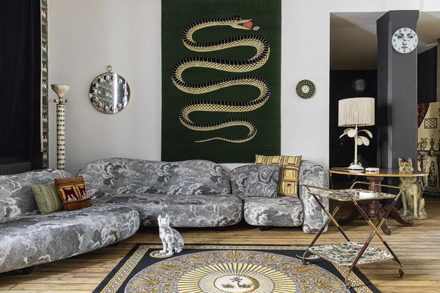 En images: Visite de la Casa Fornasetti, petit bijou surréaliste milanais
