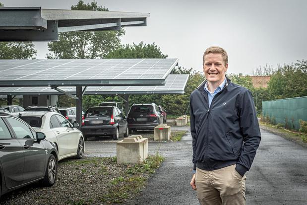 Zonnepark nabij Westvlees is tegelijkertijd bedrijfsparking