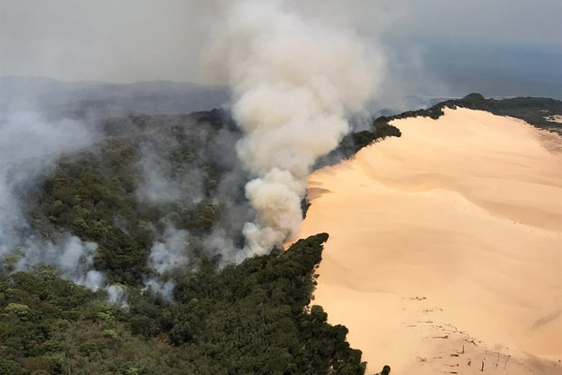 Brand op Australische Fraser Island na twee maanden onder controle