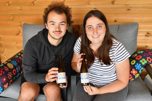 KSA Kortrijk klinkt met eigen bier Adelaarke