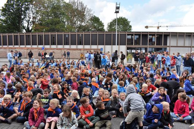 Stad Tielt zet alle zeilen bij om honderden kinderen op te vangen
