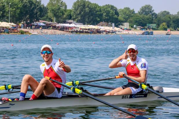 Brugse roeiers in Polen voor het Europees kampioenschap