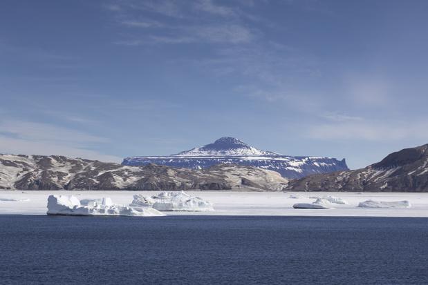 Recordtemperatuur van boven de 20 graden gemeten op de Zuidpool
