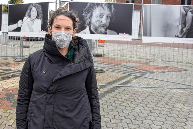 Foto's op de Grote Markt in Komen moeten taboe intrafamiliaal geweld doorbreken