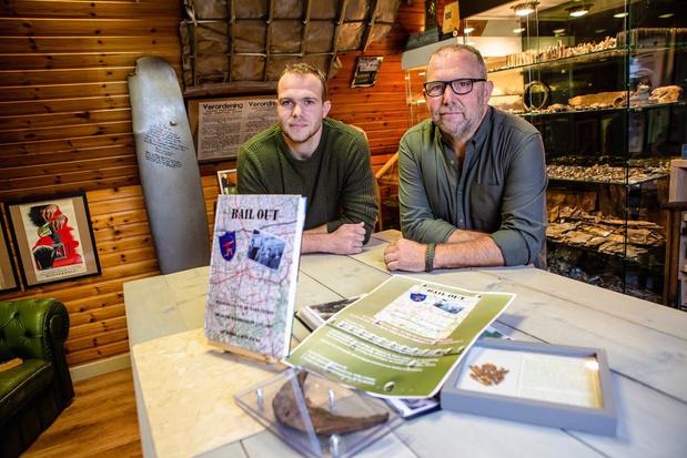 Luc en Jens Packo schrijven boek 'Bail Out' over neergestorte bommenwerper