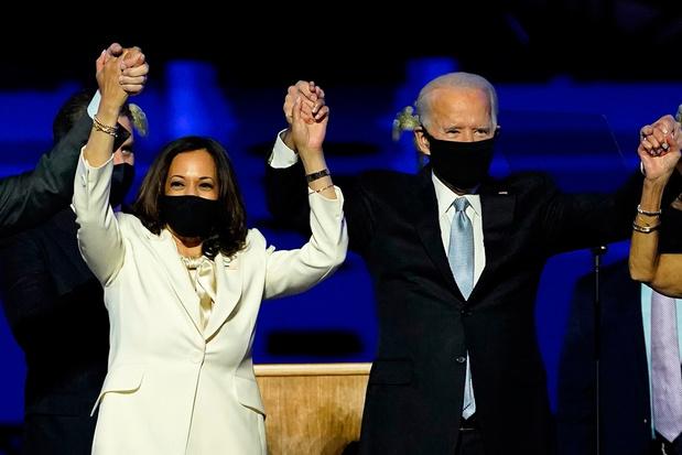 TIME vindt Biden en Harris personen van het jaar