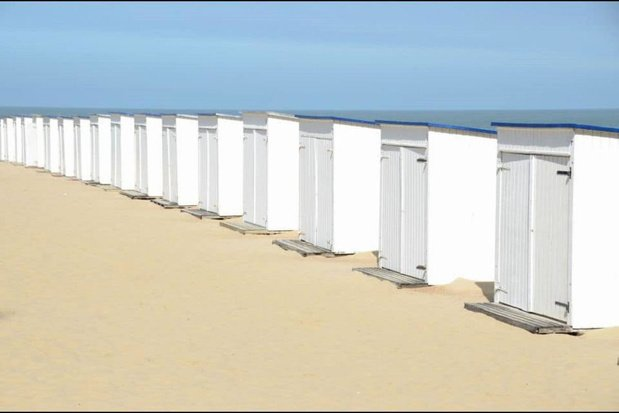 Eigenaars of huurders van een strandcabine mogen die tot zondag 24 mei gebruiken