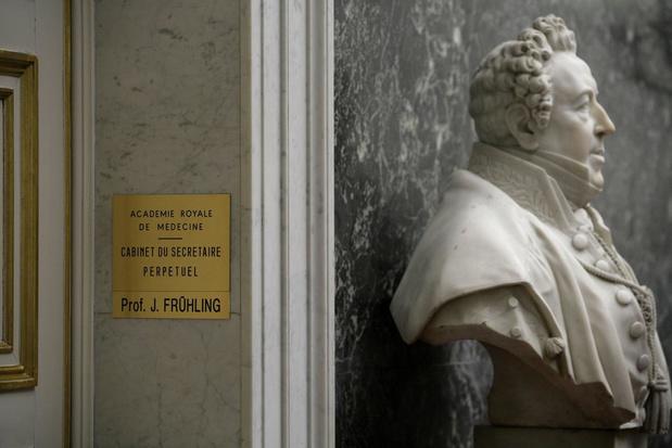 Fermeture de l'Académie royale de médecine de Belgique
