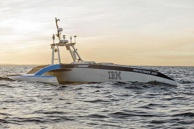 Un bateau scientifique autonome