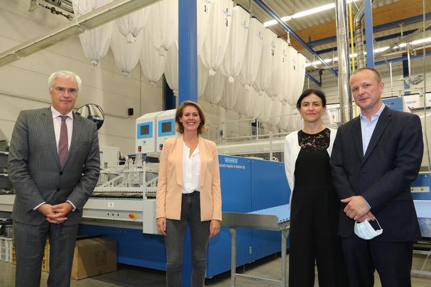 Wasserij Cailliau in Ieper groeit met 2000 m² en is marktleider in West-Vlaanderen