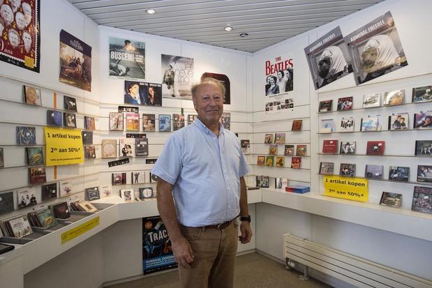 """Paul Delbaere stopt na 40 jaar met Music Shop: """"Je kan niet winnen van het internet"""""""